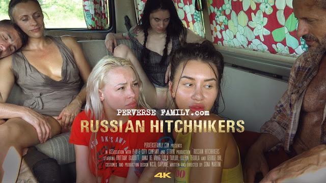 'Russian Hitchhikers': Furia sexual contra las autoestopistas rusas, lo último de 'Perverse Family'