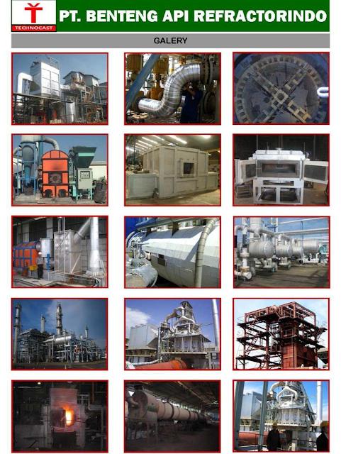 Bidang Pekerjaan Refractory & Insulation pada Industri dan Power Plant