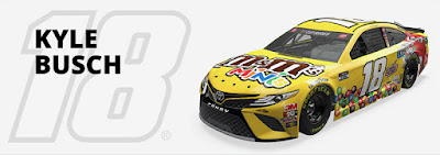 #18 Kyle Busch - Joe Gibbs Racing Hot Streak #NASCAR
