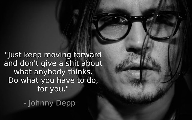 Johnny Depp inspiring quotes