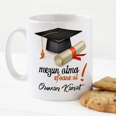 mezunlar için kupa bardak