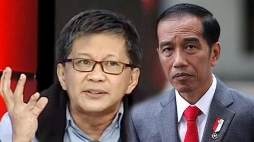 Sentil Jokowi Soal Larangan Mudik, Rocky Gerung: Ia Menikmati Ini sebagai Pencitraan