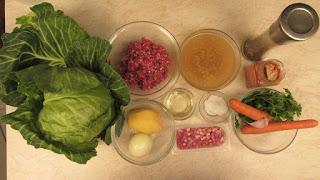 Sarma u zelenom kupusu ( japrak ) / Cabbage rolls