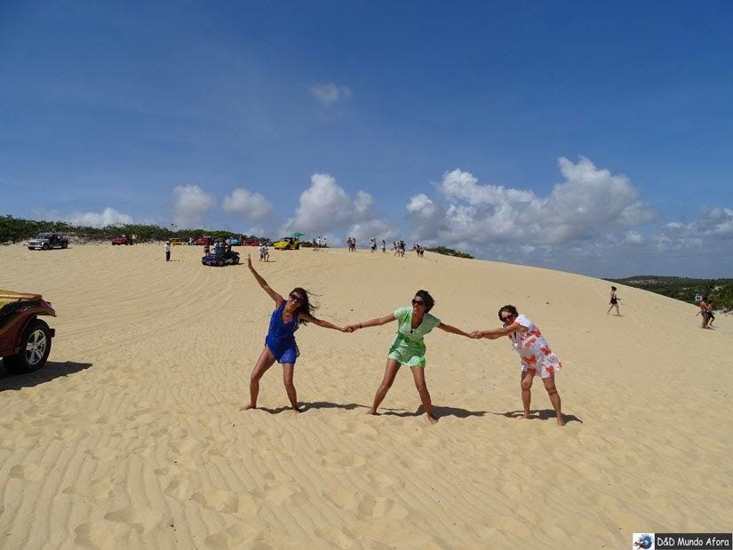 Praia de Genipabu - praias de Natal
