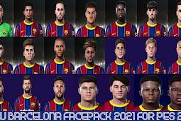 Barcelona New Facepack 2021 For - PES 2021
