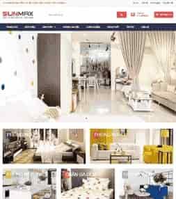 Template blogspot bán hàng nội thất thiết bị văn phòng