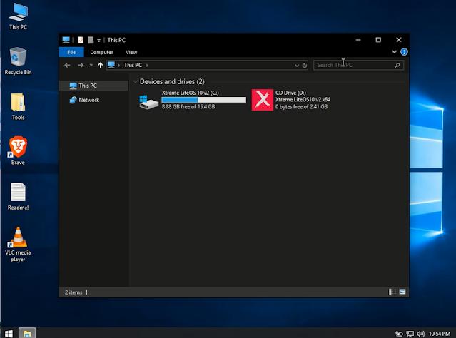 ويندوزXtreme LiteOS 10  نسخة لايت للاجهزة الالعاب