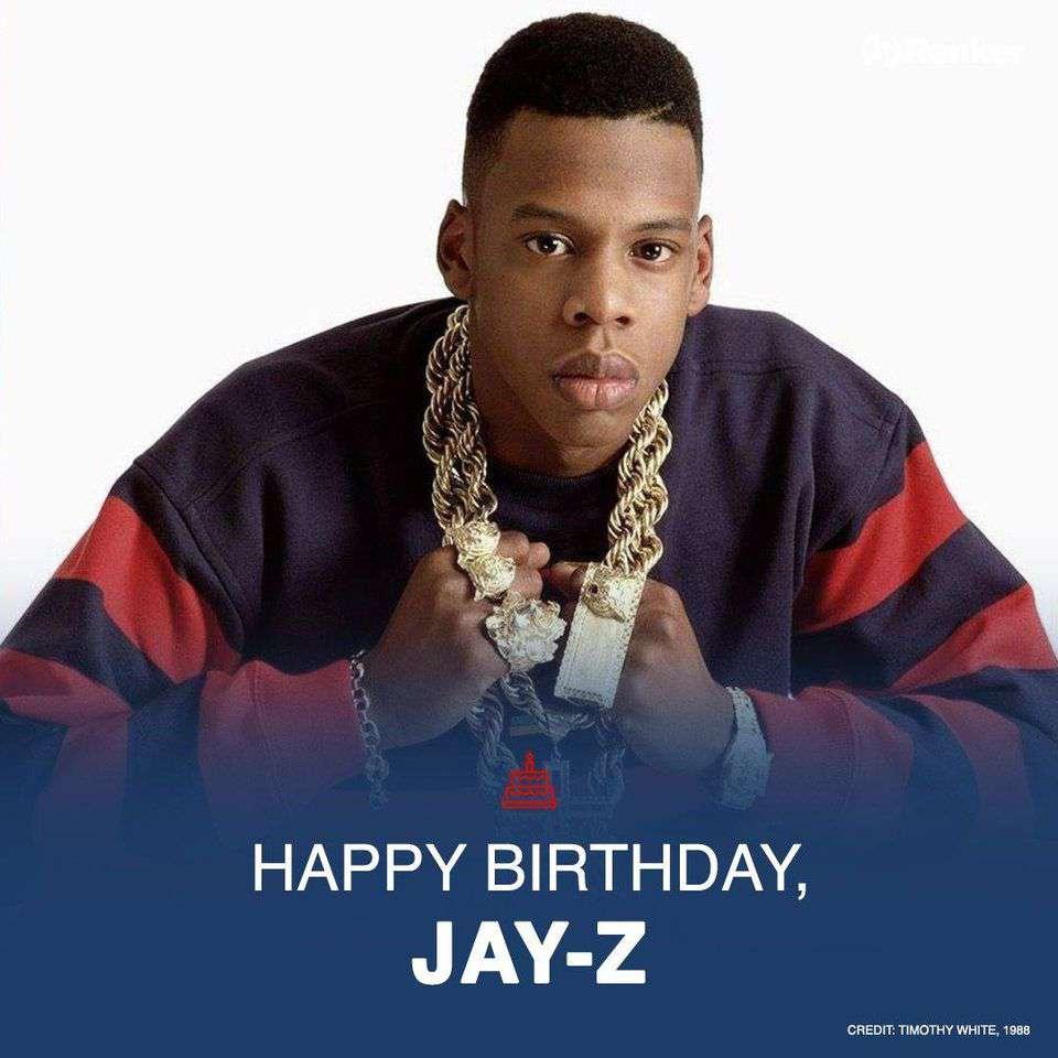 Jay-Z's Birthday Wishes Beautiful Image