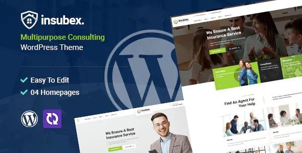 Best Multipurpose Consulting WordPress Theme
