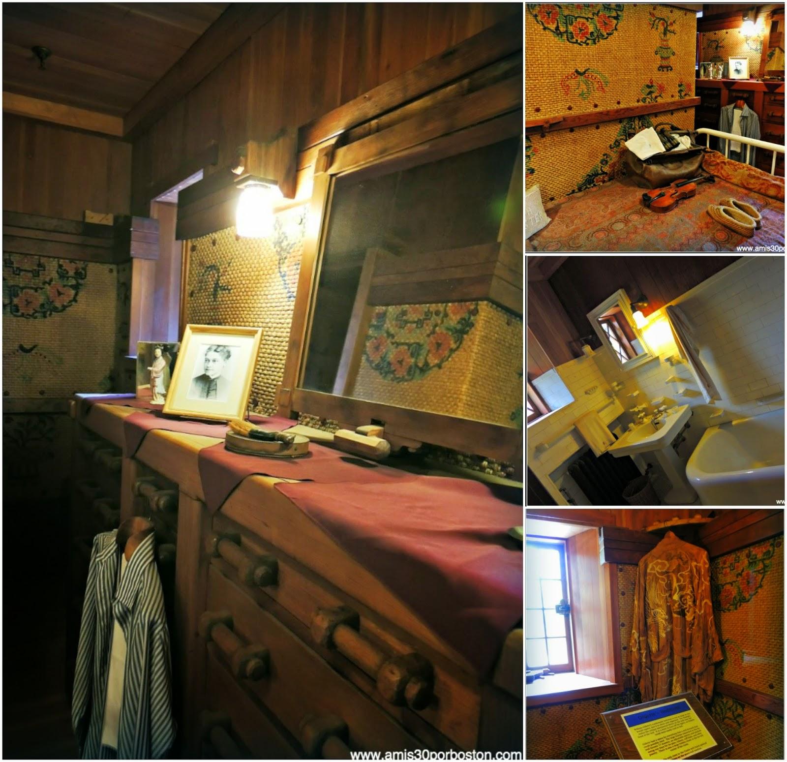 Castillo Gillette: Dormitorios