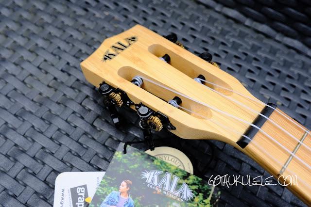 Kala KA-BMB-C Concert Ukulele headstock