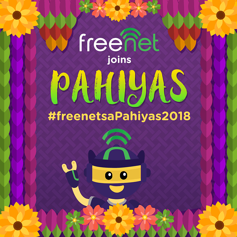 Freenet celebrates the Pahiyas 2018 festival