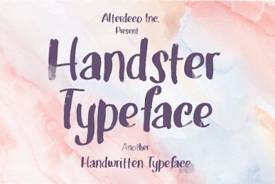 Handster-Typeface