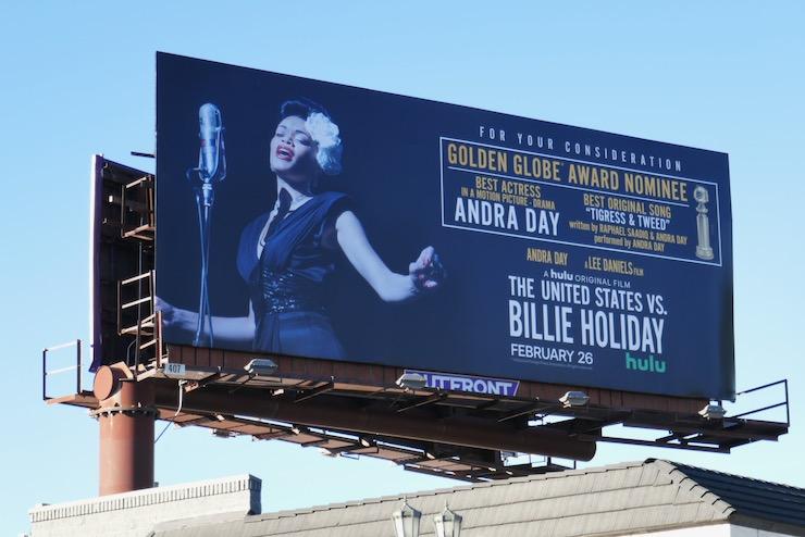 United States vs Billie Holiday billboard