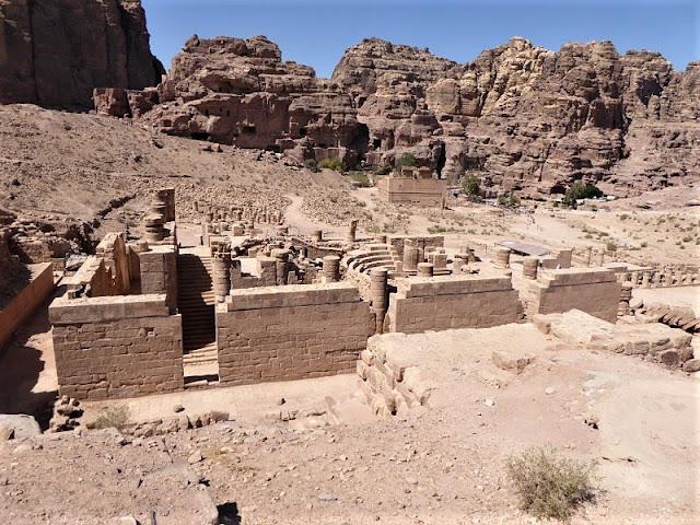 zona templi romani petra