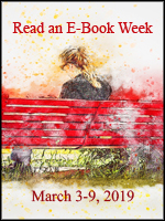 Read an Ebook Week - March 3-9, 2019 (Girl on a bench)