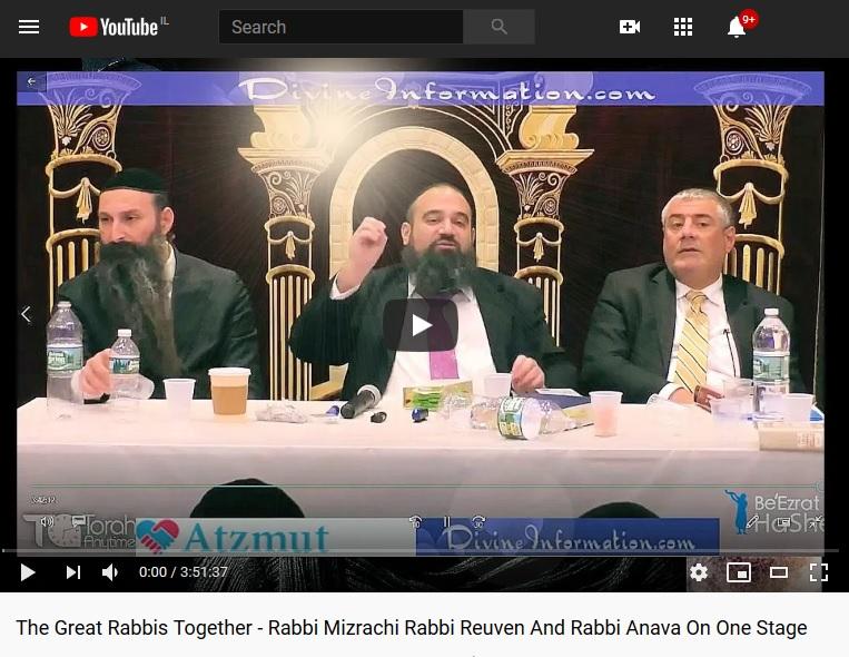 Mizrachi idiot rabbi Yosef Mizrachi