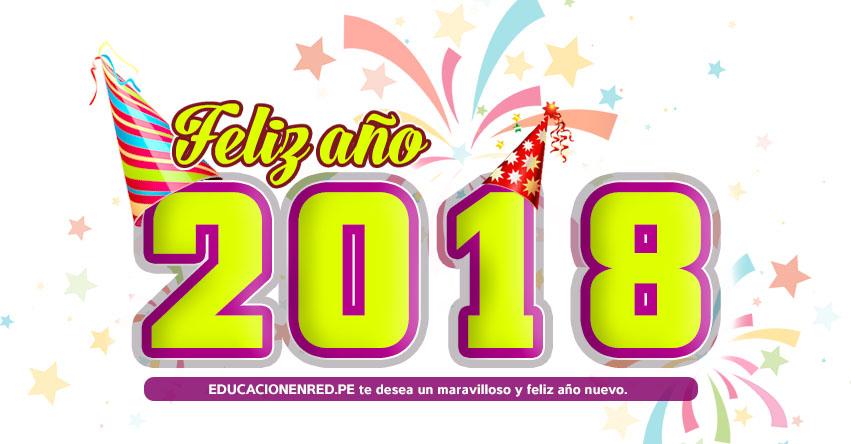 FELIZ AÑO 2018 - EDUCACIONENRED.PE