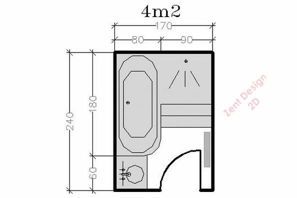 31 bath pdf zent design 2d for Bathroom design 2d