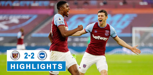 West Ham United vs Brighton & Hove Albion – Highlights
