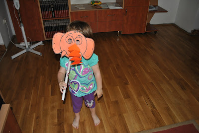 masca elefant pentru carnaval