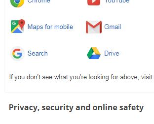 google online solution help