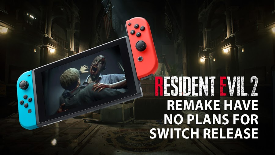 resident evil 2 remake nintendo switch release