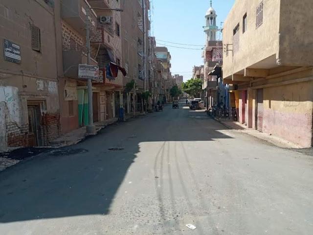 محافظ أسيوط: انتهاء إعادة رصف شوارع الترعة القديمة وبنى ادريس ومصرف مهني بالقوصية ضمن خطة الاستثمارية