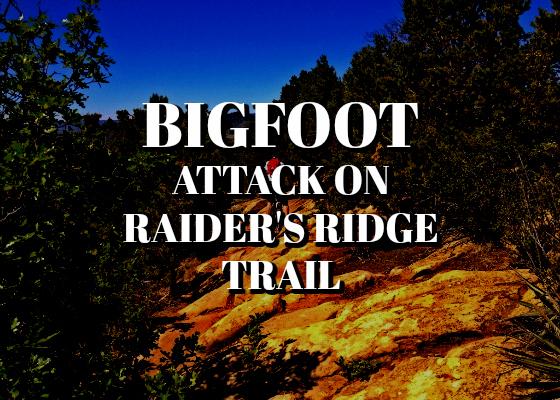 Bigfoot Attack on Raider's Ridge Trail