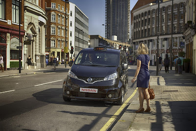 New London Taxi Nissan NV200