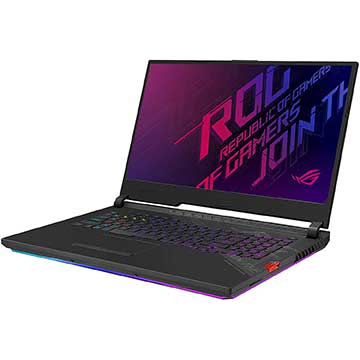 ASUS ROG Strix Scar 17 G732LWS-DS76 Drivers