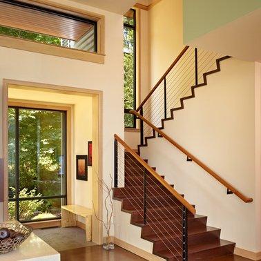 Desain Tangga Rumah Mewah Modern