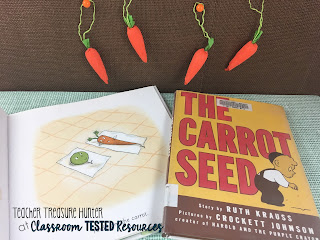 Books about carrots - great for spring!