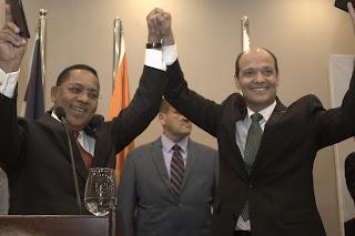Ramfis Domínguez Trujillo e Ismael Reyes Cruz firman   Acuerdo Político para la toma del poder en el 2020