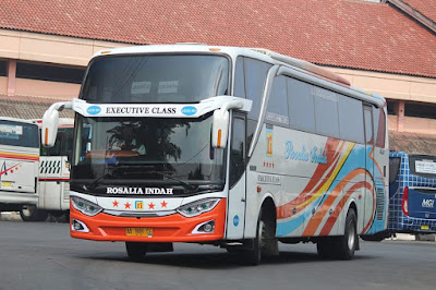 Foto Bus Rosalia Indah HDD493