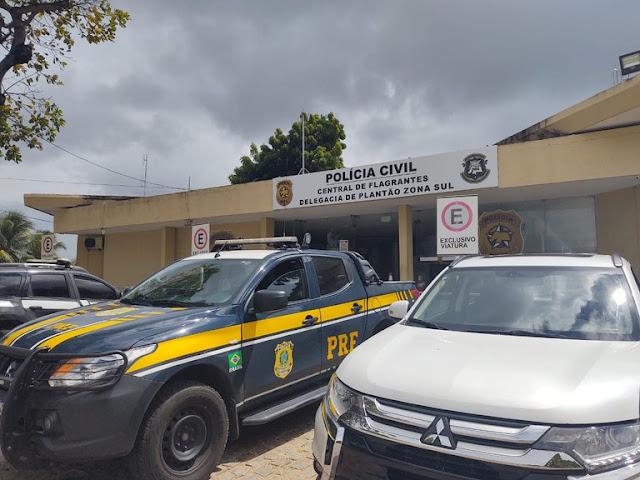 PRF recupera veículo roubado e prende homem por receptação na  BR 226 no RN