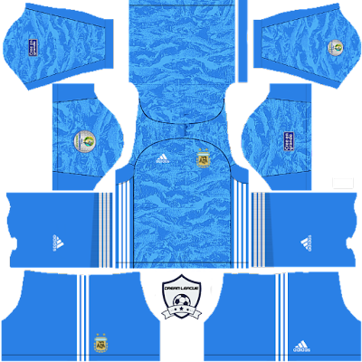argentina 2019 copa america goalkeeper third kit dls