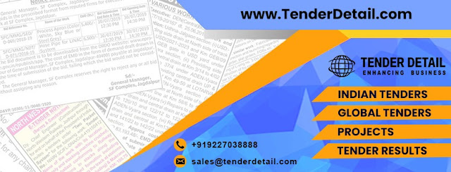 Latest Tenders Information Services - Tenderdetail