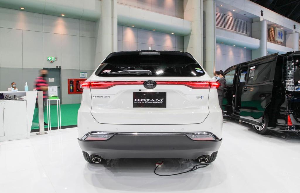 Toyota Harrier 2021 ra mắt tại Thái Lan, có thể về VN đấu Honda CR-V