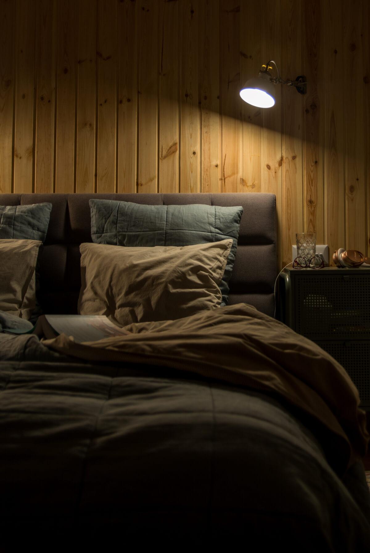 sypialnia oświetlenie nocne