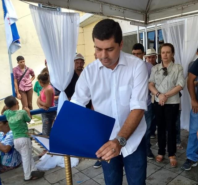 Prefeito Diogo Alexandre assina hoje ordens de serviços para pavimentação de ruas em Chã Grande