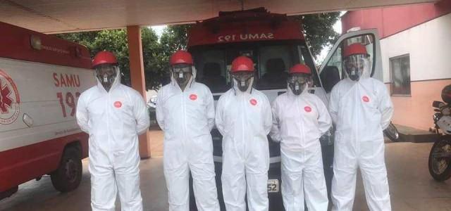 SAMU de Porto Franco recebe EPIs para atender casos suspeitos do novo coronavírus!!!