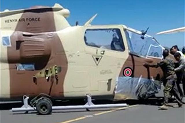 KENYA RECEIVES COBRA ATTACK HELICOPTER