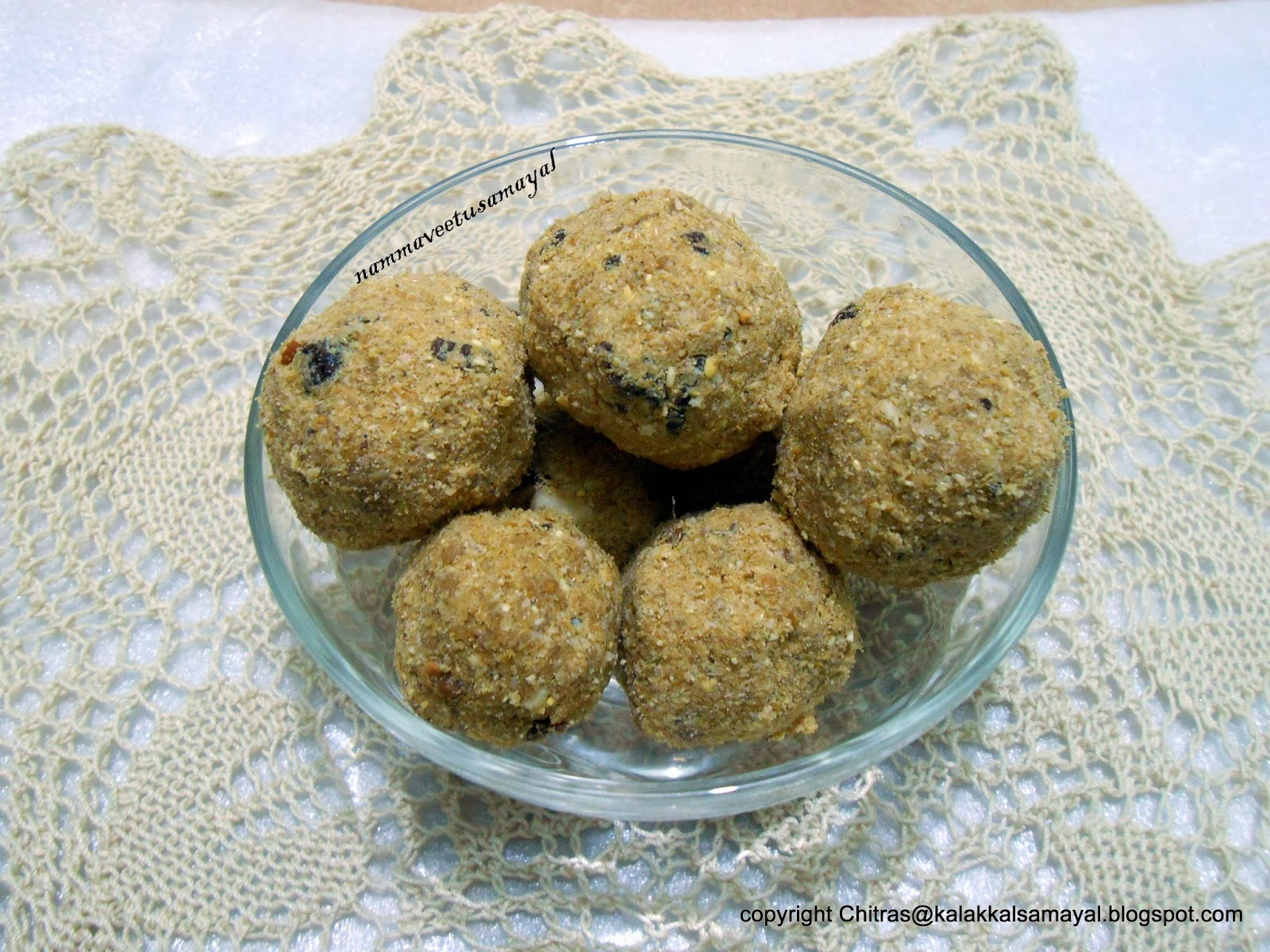 Foxtail Millet [ Thinai ] Fried grams Balls