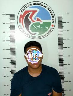 Perangi Narkotika, Polres Pelabuhan Makassar Ciduk Pelaku Narkoba