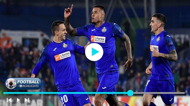 Getafe vs Ajax – Highlights