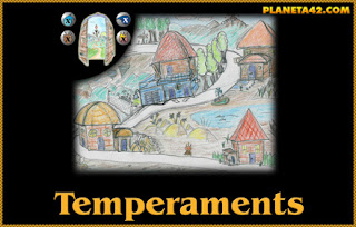 Temperaments Quest Game.
