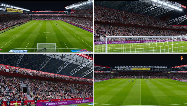PES 2020 Estadio El Molinón by AlexFreen