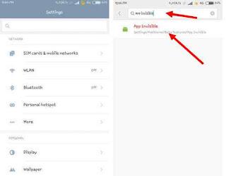 Cara sembunyikan aplikasi di HP Xiaomi