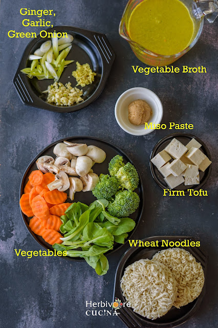 Instant Pot Ramen Soup Ingredients